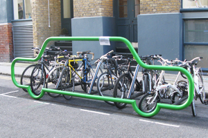 Hackney assess cycle parking demand in the borough