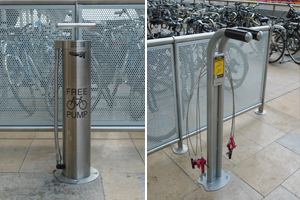 Public Bike Pumps and Repair Stands