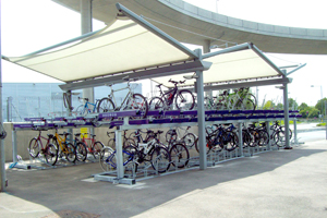 Two Tier Bike Rack