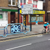 Car Bike Port Lite with Advertisement Panel