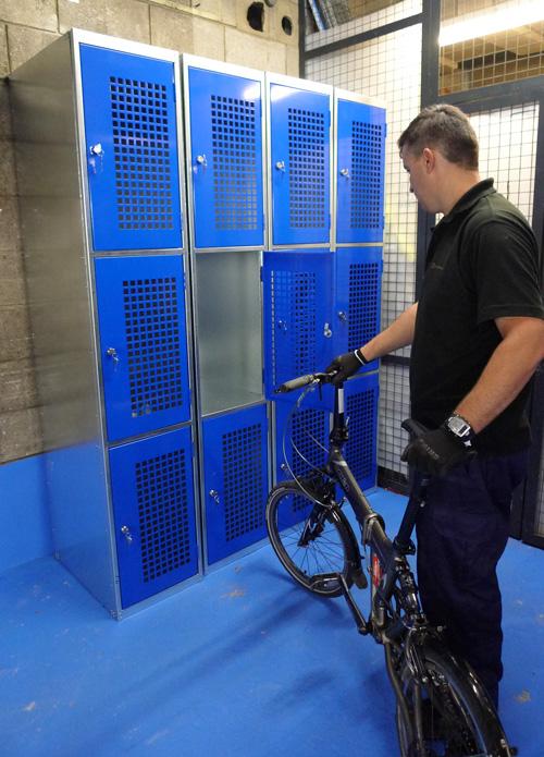 Folding Bike Locker Cyclehoop