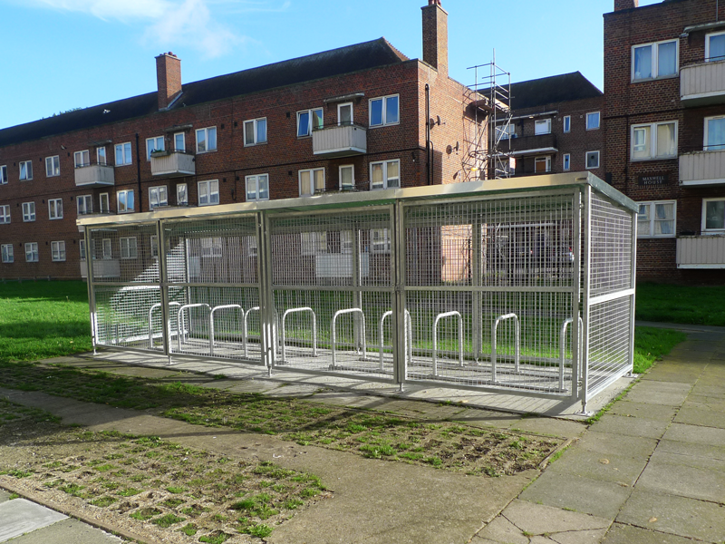 Mesh Bike Shelter Cyclehoop