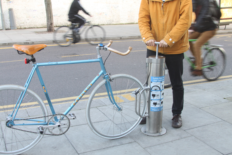Public Bike Pump Cyclehoop