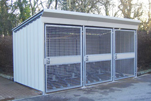 Steel Bike Shelter