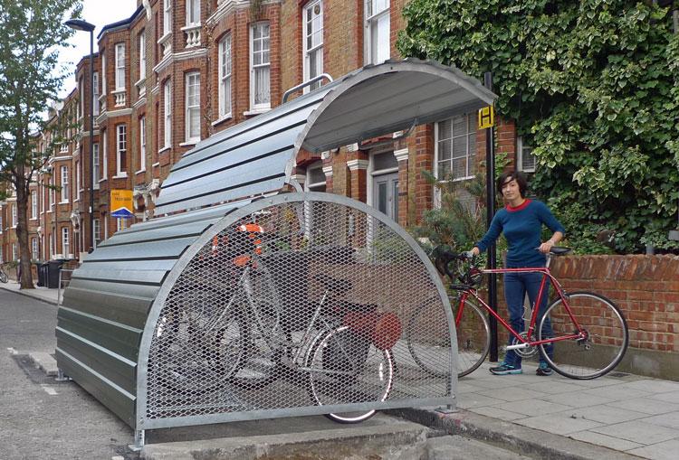 The Lambeth Bikehangar
