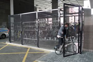 Cyclehoop customised cages and fencing