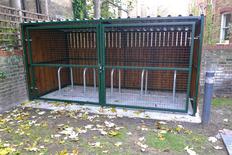 Wooden Bike Shelter Cyclehoop