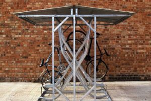 Vertical Cycle Parking